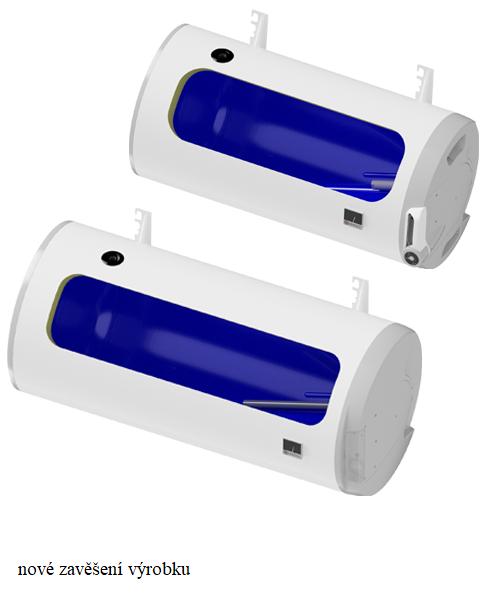 DZD Ohřívač elektrický DZD vodorovný OKCEV 160 1106308211