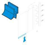 JIKA ND spodní těsnící lišta pro vanové zástěny Cubito H2912050000001 # 219290794