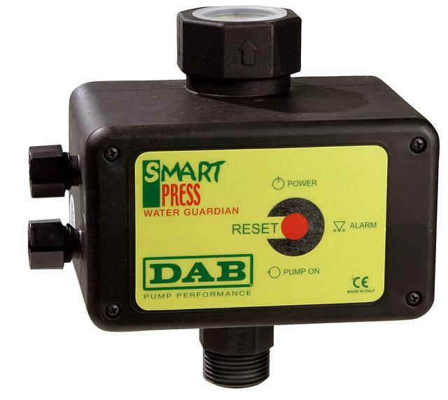 DAB PUMPS DAB PUMPS DAB SMART PRESS WG 1,5 HP Elektronický tlakový spínač - bez kabelu *AD* DAB.SMART PRESS 60114808 219282115 60114808