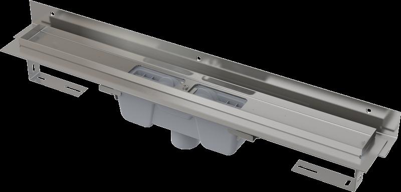 Alcaplast Alcaplast Alcaplast APZ1004-850-FLEXIBLE podlahový žlab ke zdi v.85mm svislý odtok min. 900mm kout APZ1004-850 219278696 APZ1004-850