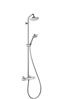 HG Showerpipe Croma 160 chrom 27135000