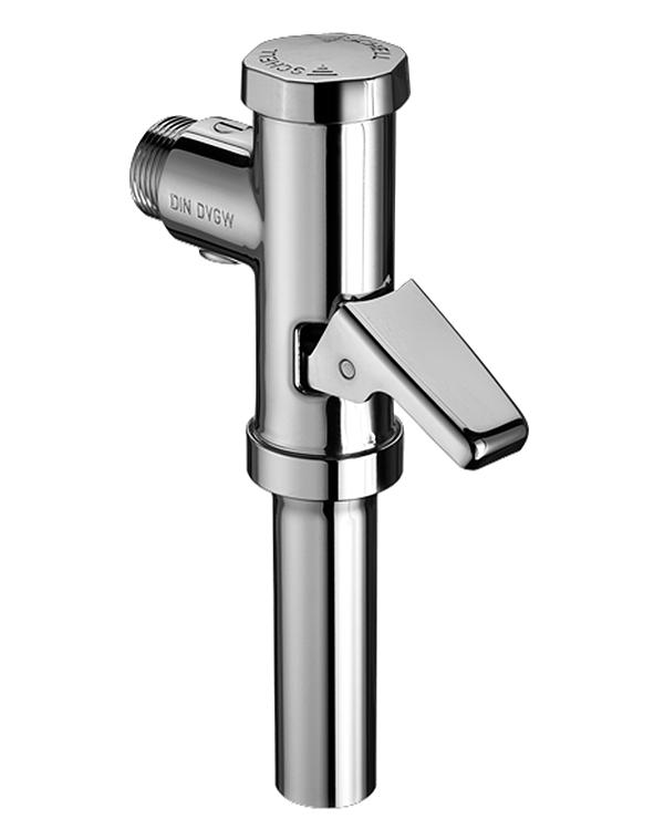 Schell tlakový splachovač WC Schellomat s páčkou 3/4 chrom, plastová kartuše S022020699